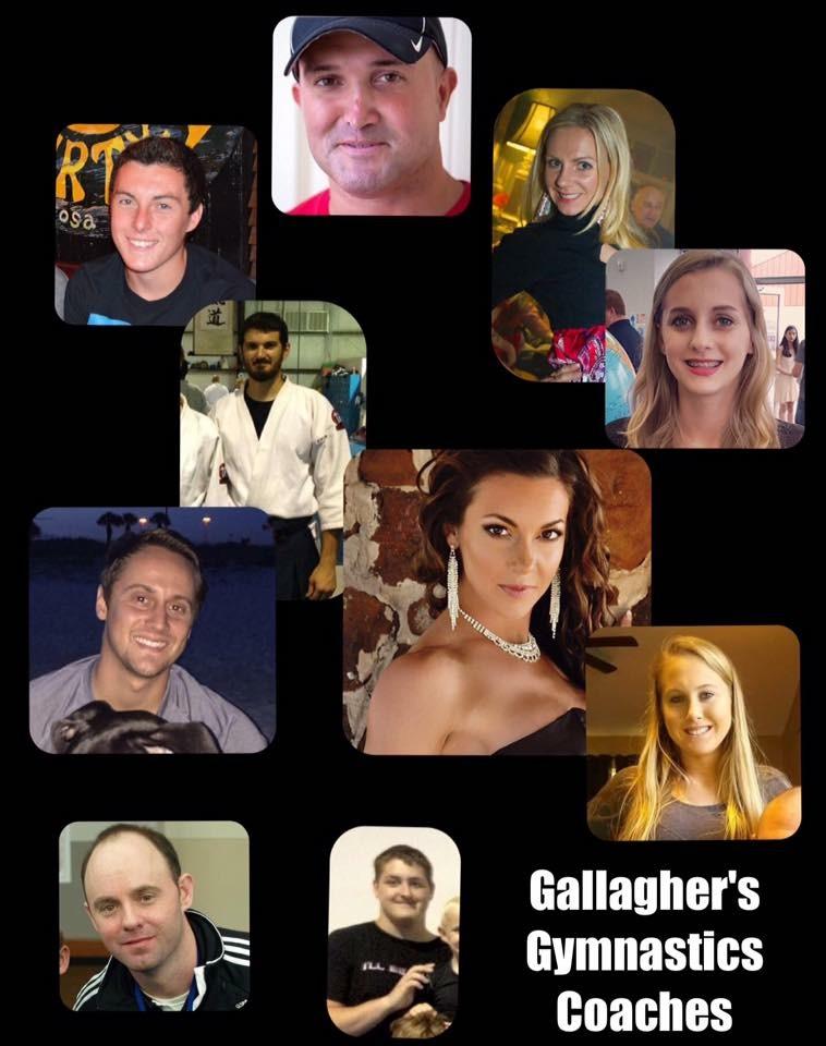 Gallagher's Gymnastics Coaches