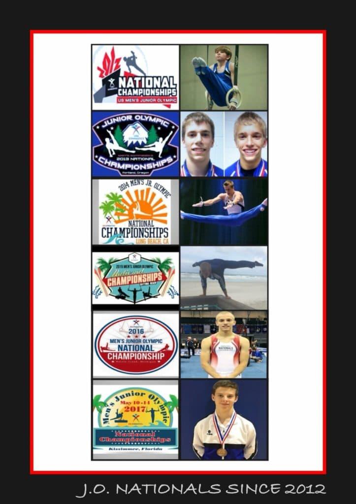 JO National Athletes